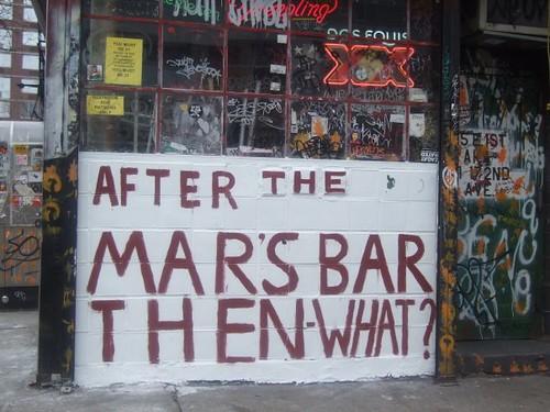 Mars Bar Mural - Jan. 23, 2009