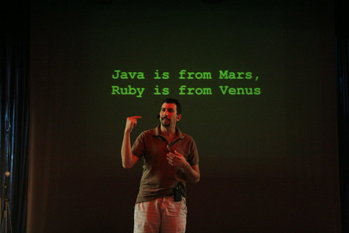 java is from mars, ruby is from venus