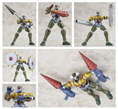 Brave Gokin35 Jeeg Ltd Metallic Version