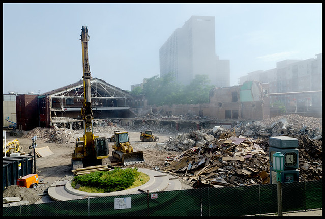 Demo in Progress - Loyola Alumni Gym