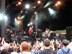 Ilosaarirock 2011 - Michael Monroe