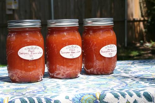 sunshine peachy jam