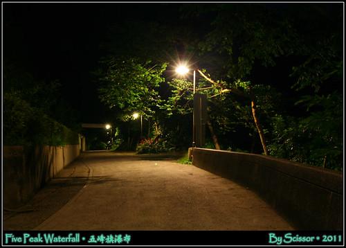 五峰旗瀑布 街景
