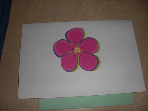 envelope backside