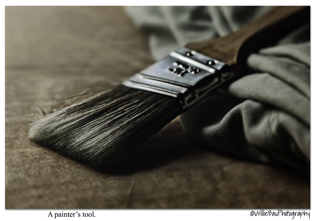 A painter's tool...