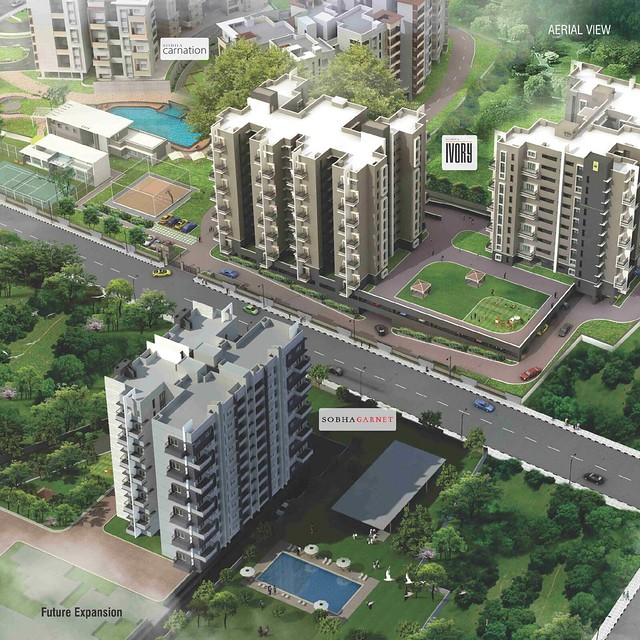 sobha-garnet-layout-plan-airial-view