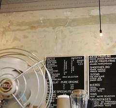 Menu at Coutume Café (LostNCheeseland) Tags: paris france coffee café cappuccino pariscafe coutumecafe