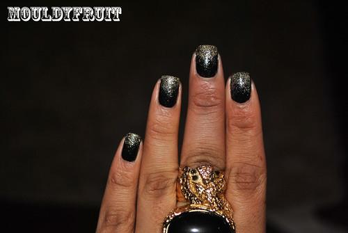 Black Nail Polish Dark Skin Pictures