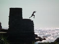 Reach for the sky (Screwdriver32,more off than on :-() Tags: sea beach scotland fuji finepix fujifilm ayr ayrshire dunure hs10 hs11 myfuji ayrshirecoast screwy32 screwdriver32 myfjui johnscrewdriver