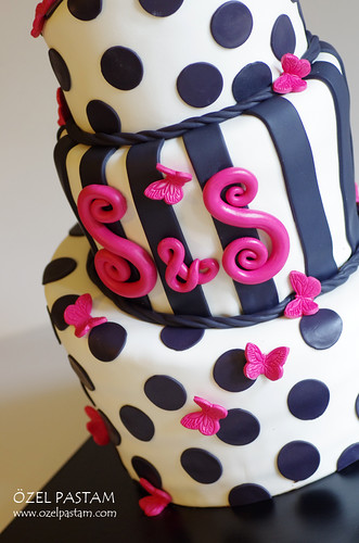Semin ve Seçkin'in Nişan Pastası / Topsy Turvy Engagement Cake