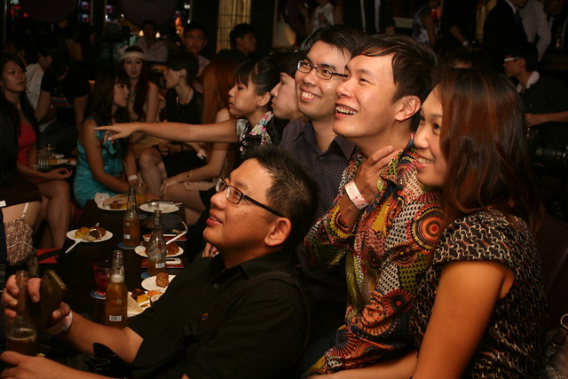 Singapore Blog Awards 2011 Party