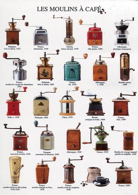 Les moulins à café