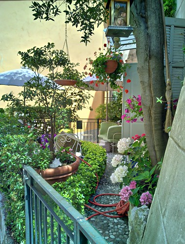 Jardim de outra casa em La Turbie