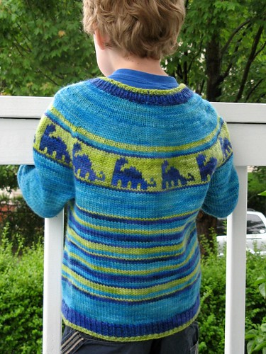 Knitting Pattern For Dinosaur Sweater : July 2011 Remily Knits