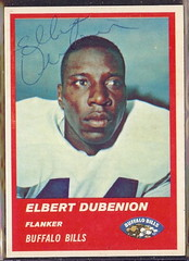 1963 Fleer - 26 - Elbert Dubenion