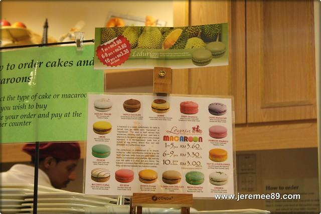 Levain Boulangerie & Patisserie @ Off Jalan Imbi, Kuala Lumpur - Macaroons Menu