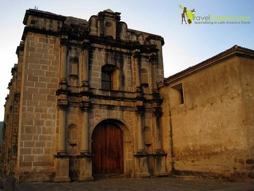 Santo domingo church and convent in antigua