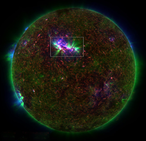 SDO Spots Extra Energy in the Sun's Corona