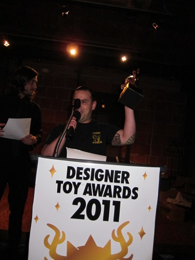 Designer Toy Awards SDCC 2011
