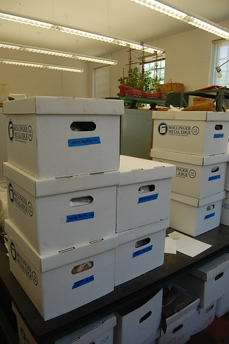 The Archaeology in Annapolis lab, under there somewhere. Source: Kate Deeley