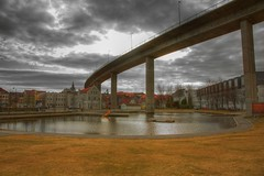 Stavanger, Norway (TomLiaPhotography) Tags: bridge architecture stavanger hdr