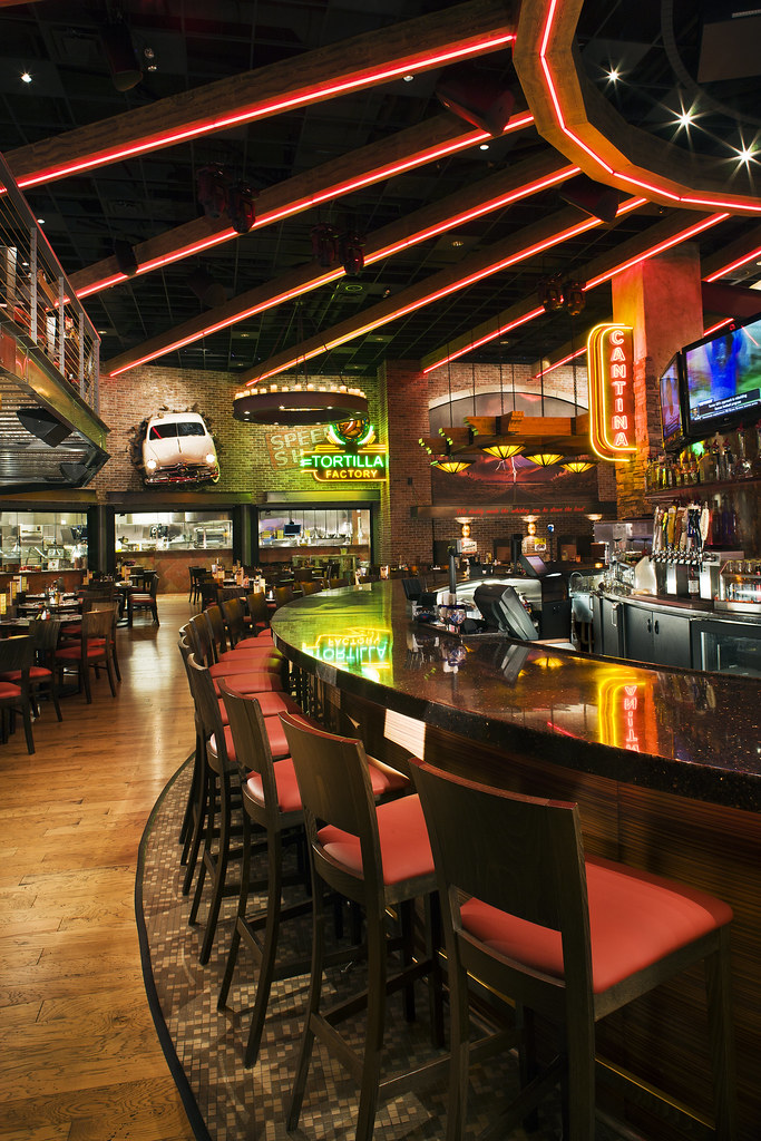 Casino Restaurant Design | Restaurant Decor Design | Bar Design | Restaurant & Bar | Thunder Road Steakhouse & Cantina | Route 66 Casino