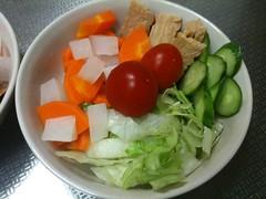 朝食サラダ(2011/7/30)