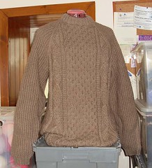 Irish wool aran sweater (116) (Mytwist) Tags: irish wool sweater jumper aran cabled
