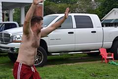 Victory Lap (Tobyotter) Tags: shirtless man male guy pits tim friend armpits kanjam