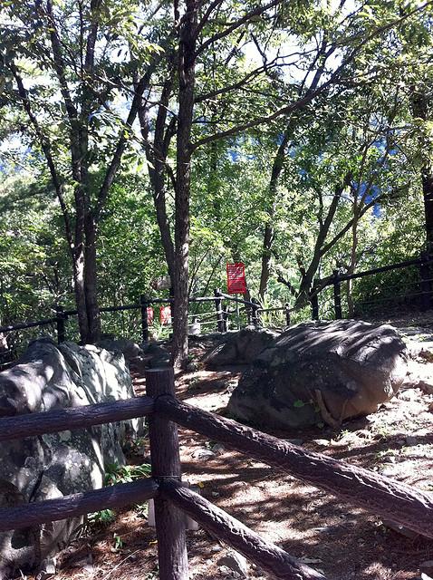 過而不入的波津加山登山口
