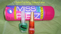 Ultimas compras... (Roberta Kelly Damasceno) Tags: spray nails lorena risque unha esmalte coloreffect flocado sinhinho coberturaencantada secantedeesmalte