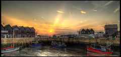 Whitstable 1 (J.W.Turner) Tags: ocean sunset sea canon coast boat kent ship harbour tokina whitstable 1224 500d