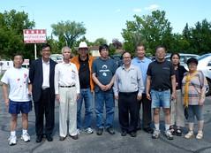 Lee Cheuk-yan (李卓人) and Mak-hoi-wah (麥海華) in Calgary - pix 03