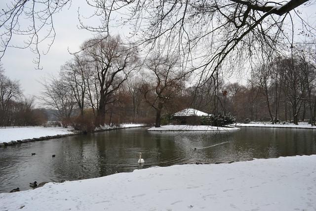 Englischer Garten in Winter