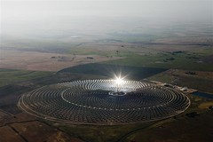 GP02G6D (IgorPodgorny) Tags: sun reflections outdoors landscapes spain day aerialview renewableenergy solarenergy heliostat climatecampaigntitle keywordcheckedimagegpi solarpowerstations