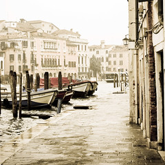 Riva de Biasio (RachaelMc) Tags: travel venice italy boats italia stop aged venise venezia processed venedig grandcanal treated vaporetto travelphotography rachaelmc rjmcdiarmid rivadebiasio
