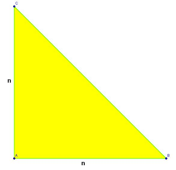 Una demostración geométrica de la irracionalidad de raíz de 2