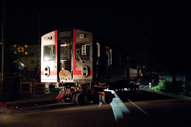 東急電鉄7700系7913F クハ7713陸送