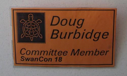 Swancon 18 badge