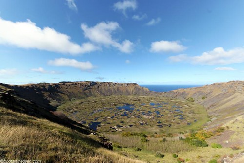 Rano Kau, Rapa Nui's spectacular volcanic lake and crater