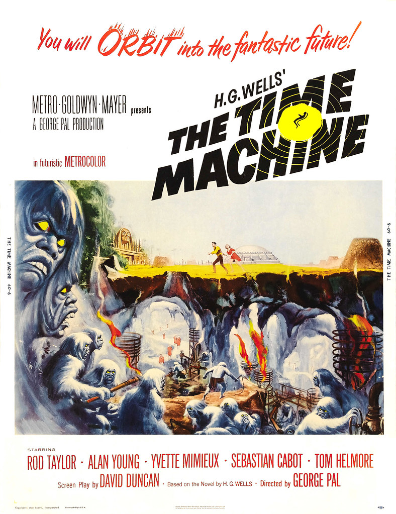 Reynold Brown - Time Machine, The (MGM, 1960) poster 2