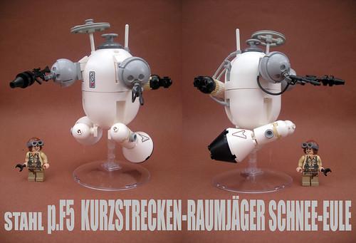 Custom minifig Stahl short range starfighter