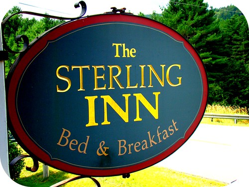 the Sterling Inn, where we stayed near Caratunk, ME