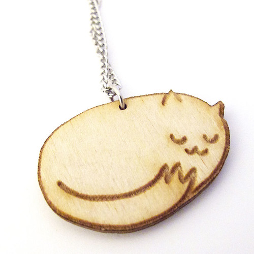 Sleepy Kitty Charm 3