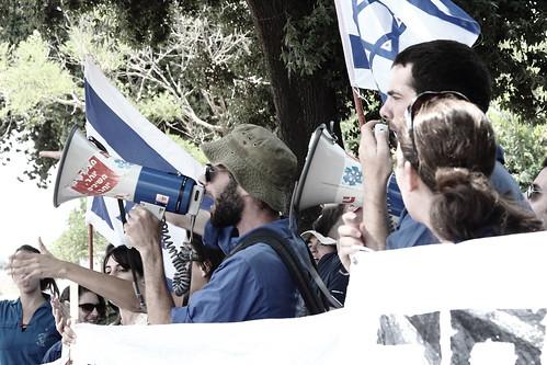 מחאה ישראלית מפחידה את הימין הישראלי והימין הפלסטיני כאחד. ירושלים, שבוע שעבר