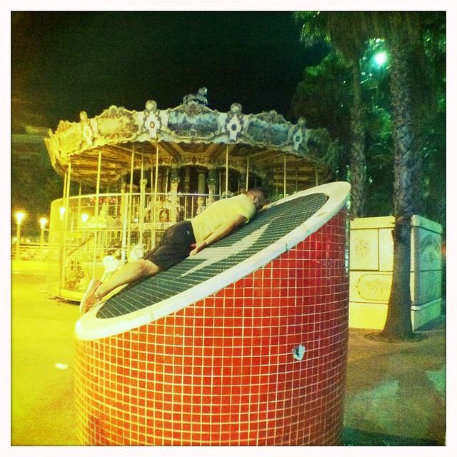 Iola planking 7