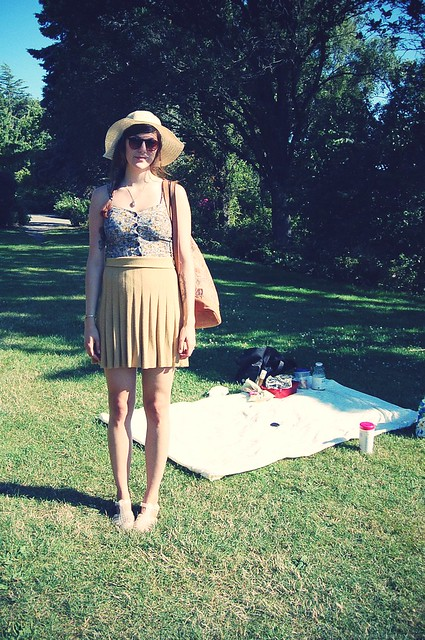 picnic outfit.