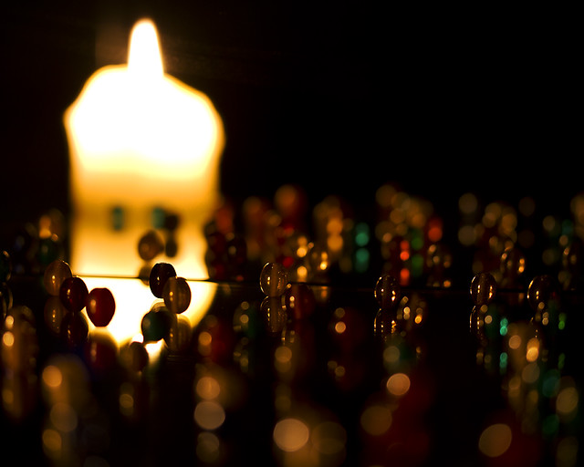 In a state of grace - 31 Day Photography Challenge - August 2011: Day 04 - Candlelight
