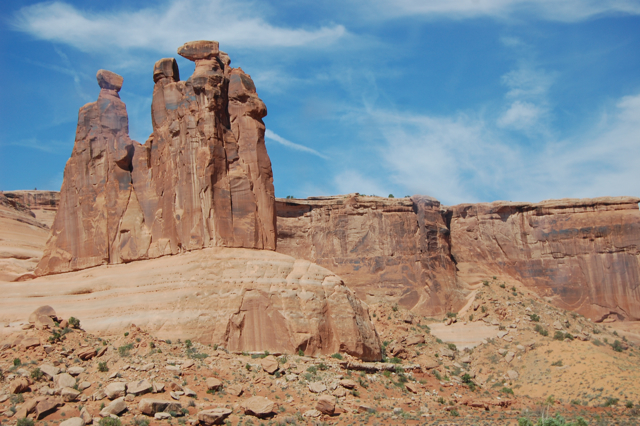 at arches national park