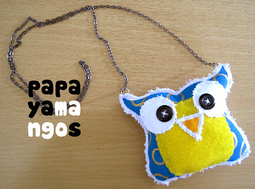 owl necklace 3